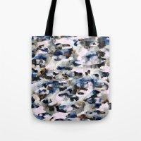 camo Tote Bags featuring Camo by Josie Stevenson