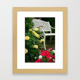 Tranquil Garden Framed Art Print