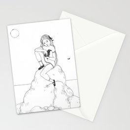 the great raven Stationery Cards