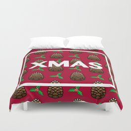 Pinecone XMAS Duvet Cover