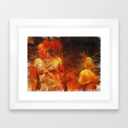 Maketa Framed Art Print