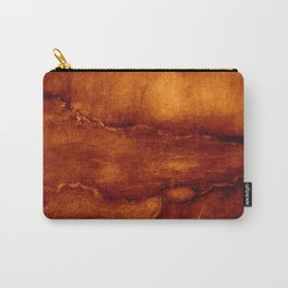 brown wall Carry-All Pouch