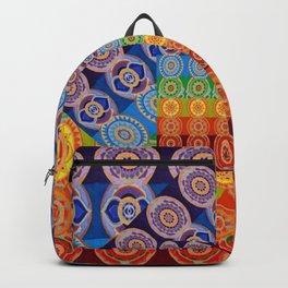 7 CHAKRA SYMBOLS OF HEALING ART #2 Backpack