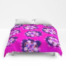 Pink Nevada Rose Comforters