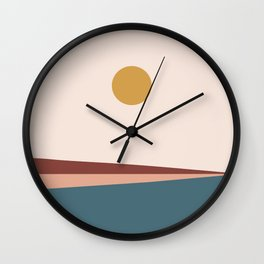 Minimal Horizon IX Wall Clock