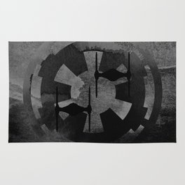 Galactic Empire Tie Fighters on Gray Rug