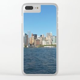 New York New York Clear iPhone Case