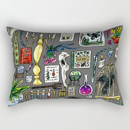 Witch Supplies Rectangular Pillow