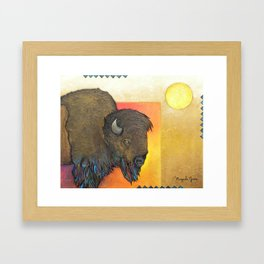 The Grandfather Framed Art Print