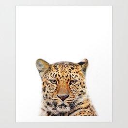 Leopard Animal Art Print by ZouzounioArt Art Print