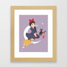 Kiki's Deliveries Framed Art Print