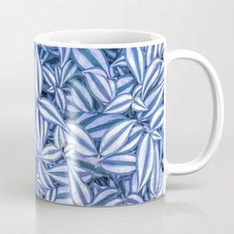 Floral pattern - Wandering Jew plant leafs Coffee Mug