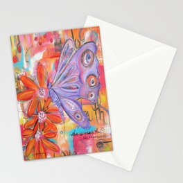 She is more than She knows... Stationery Cards