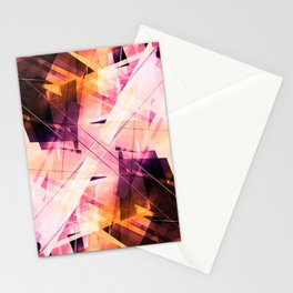 Sunbound - Geometric Abstract Art Stationery Cards