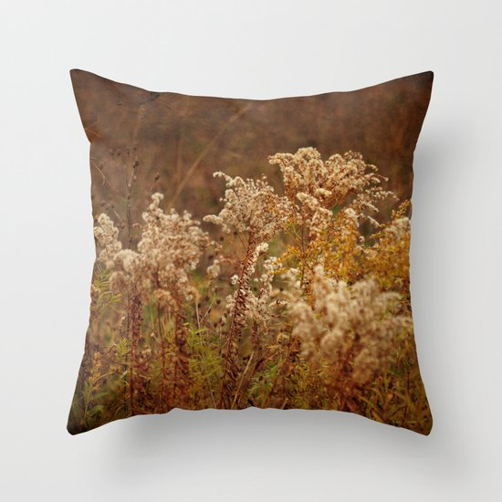 Dried Arrangement Throw Pillow