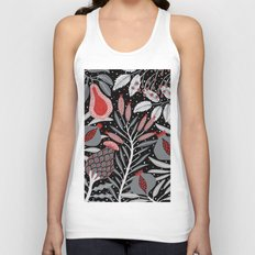 Winter scene with summer fruits Unisex Tank Top