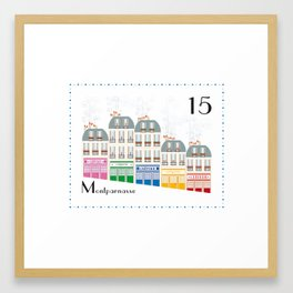 Paris _ Montparnasse Framed Art Print