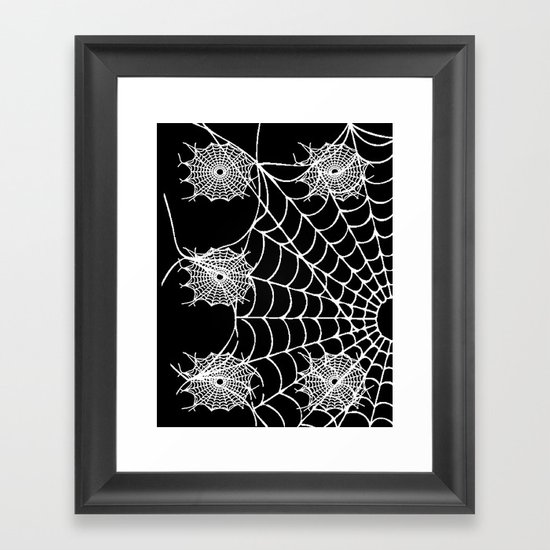 WEB PAGE Framed Art Print