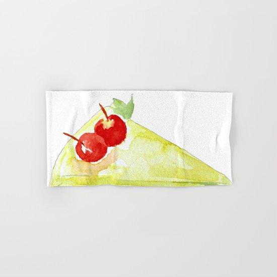 Lime Cake Hand & Bath Towel