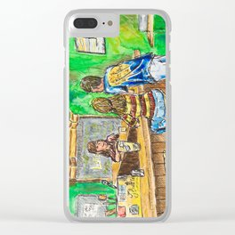A Night At Point Ybel Clear iPhone Case