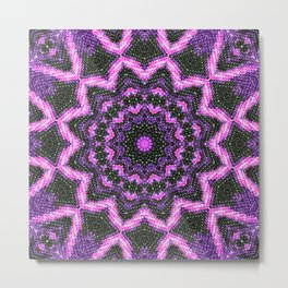Purple joy Metal Print