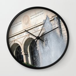 Detroit Institute of Arts Wall Clock