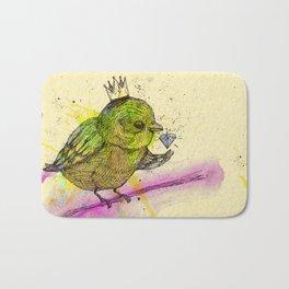King Bird Bath Mat