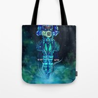 architect Tote Bags featuring Architect 1  by HourglassAxis