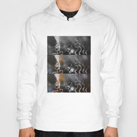 tv Hoodies featuring Television by J.J.