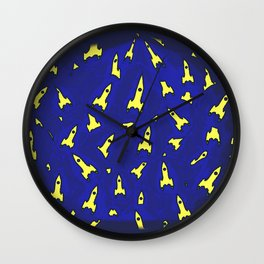 WE HAVE LIFTOFF!!! Wall Clock