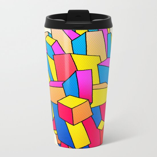 - summer Stadt - Metal Travel Mug