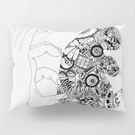 Y en la oscuridad también Pillow Sham