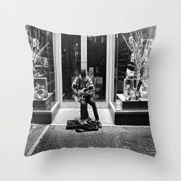 Street Solo Throw Pillow