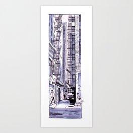 Chicago Alleyway Art Print