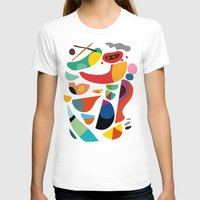kitchen T-shirts featuring Still life from god's kitchen by Picomodi