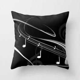 DT MUSIC 4 Throw Pillow