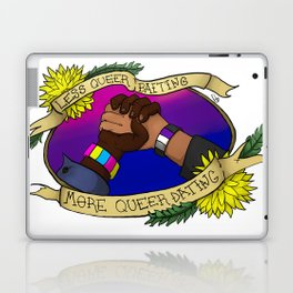 Less Queerbaiting - More Queer Dating!  Laptop & iPad Skin