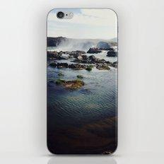 where the water falls iPhone & iPod Skin