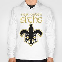 new order Hoodies featuring New Order Siths by Ant Atomic