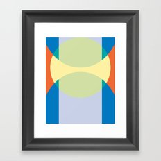 Cacho Shapes XCIII Framed Art Print