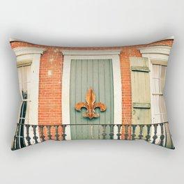 French Quarter Color, No. 5 Rectangular Pillow