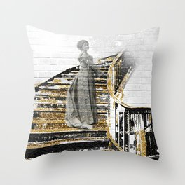 For Something Walks Throw Pillow