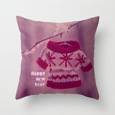 Happy New Year preparation;) Throw Pillow