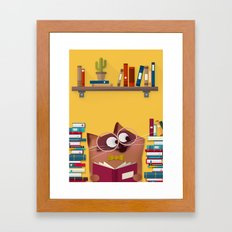 Witty Kitty Framed Art Print