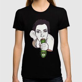 Unknown Celebrity with Pickle T-shirt