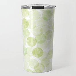 Bubbles (Lime) Travel Mug