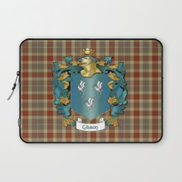 Gibson Coat of Arms and Tartan Laptop Sleeve