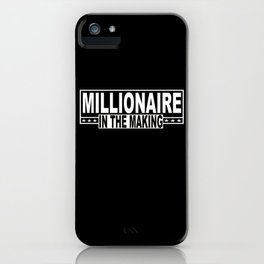 Money Millionaires Euros Independently iPhone Case