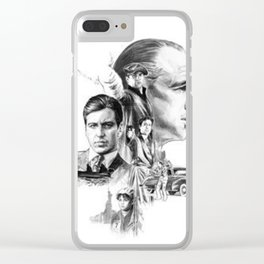 The Godfather Hand Drawn Custom Clear iPhone Case