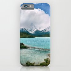 Magestic Landscape #photography #society6 #ocean#mountians iPhone 6s Slim Case